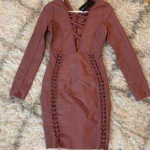 Fashion Nova Unapologetic Bandage Dress